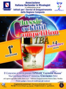 """""""Classic Cocktail Competition IBA""""2016_1"""